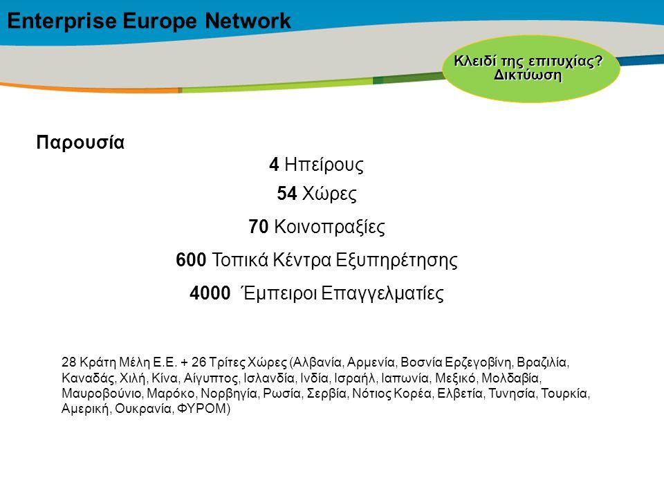 Title of the presentation | Date |‹#› Παρουσία 4 Ηπείρους 54 Χώρες 70 Κοινοπραξίες 600 Τοπικά Κέντρα Εξυπηρέτησης 4000 Έμπειροι Επαγγελματίες Κλειδί της επιτυχίας.
