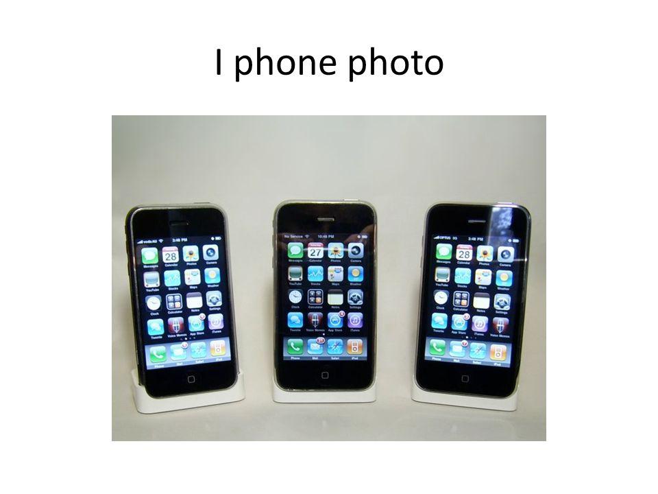 I phone photo