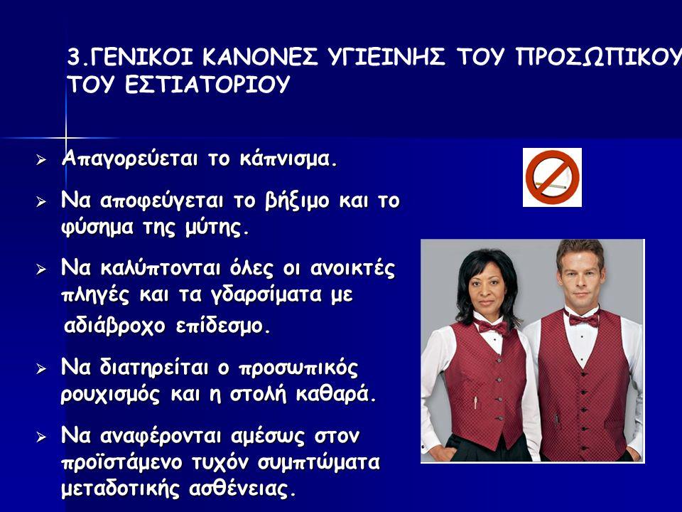  Απαγορεύεται το κάπνισμα. Να αποφεύγεται το βήξιμο και το φύσημα της μύτης.