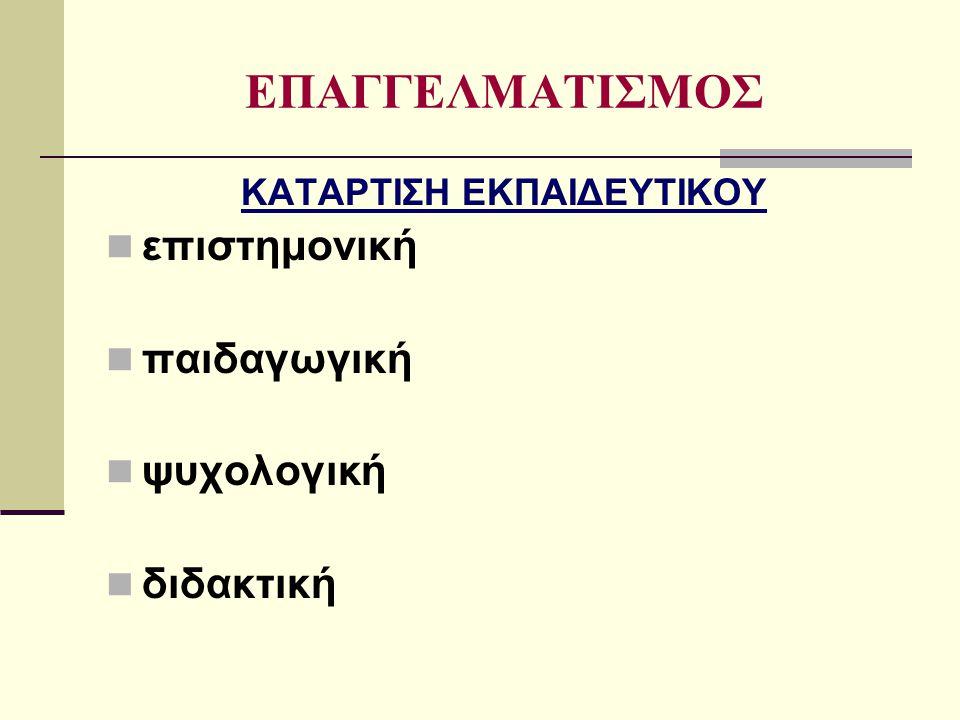 ΒΙΒΛΙΟΓΡΑΦΙΑ Ματσαγγούρας Ηλίας Γ., Θεωρία και πράξη της διδασκαλίας, τ.