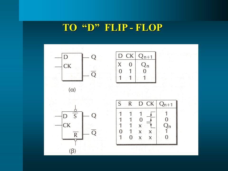 """ΤΟ """"D"""" FLIP - FLOP"""