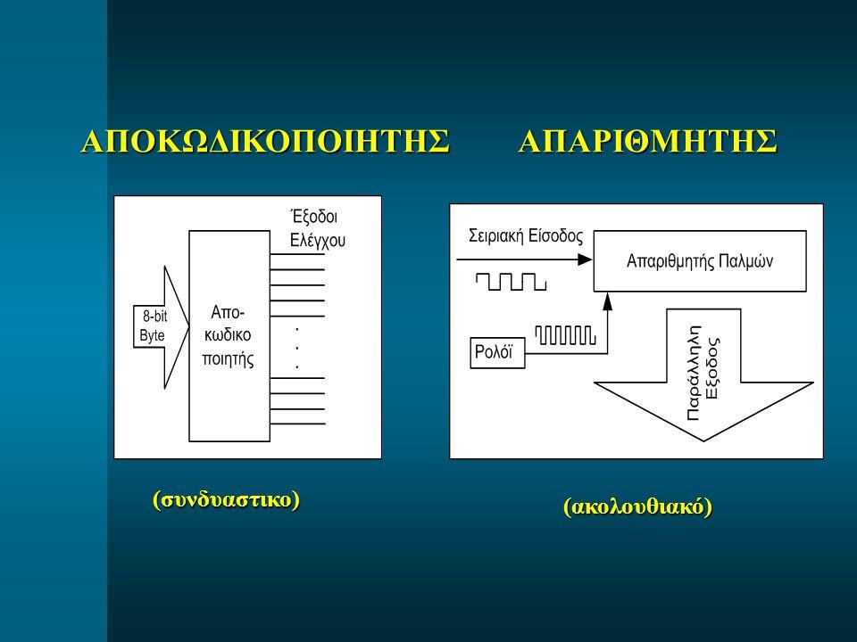ΑΠΟΚΩΔΙΚΟΠΟΙΗΤΗΣ ΑΠΑΡΙΘΜΗΤΗΣ (ακολουθιακό) (συνδυαστικο)