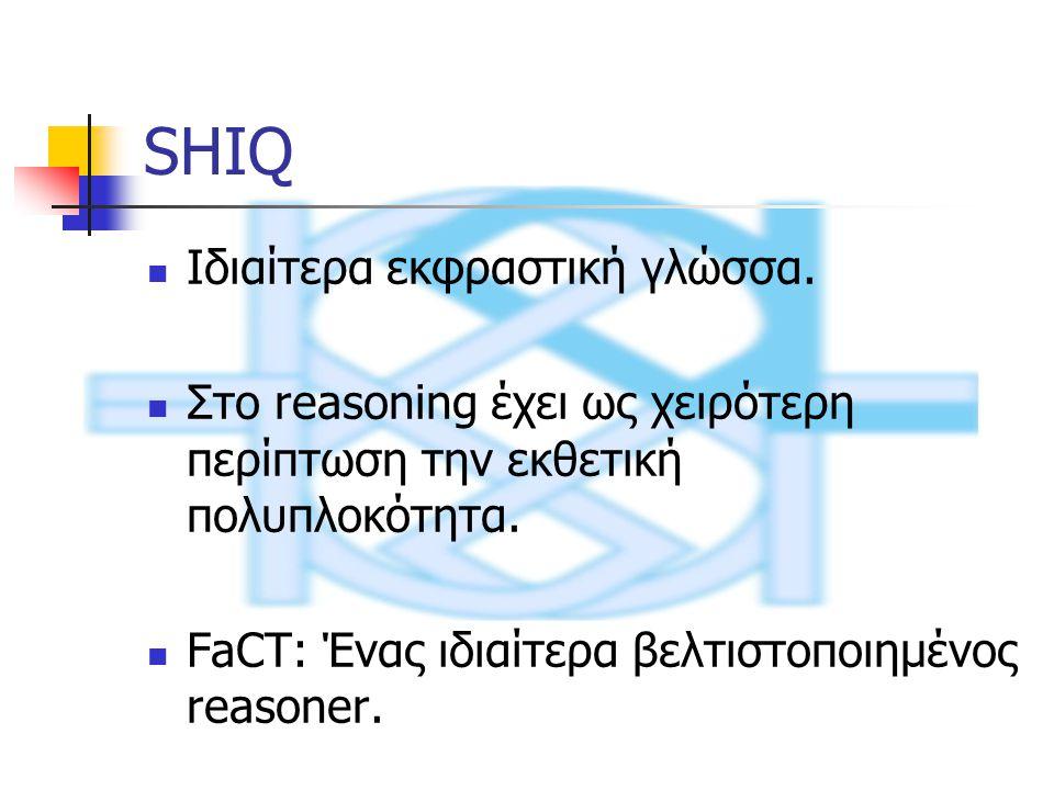 SHIQ Ιδιαίτερα εκφραστική γλώσσα.