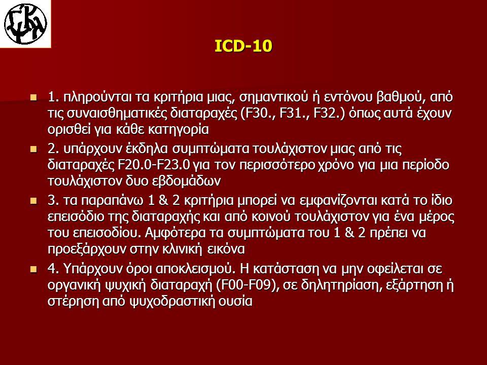 ICD-10 1.