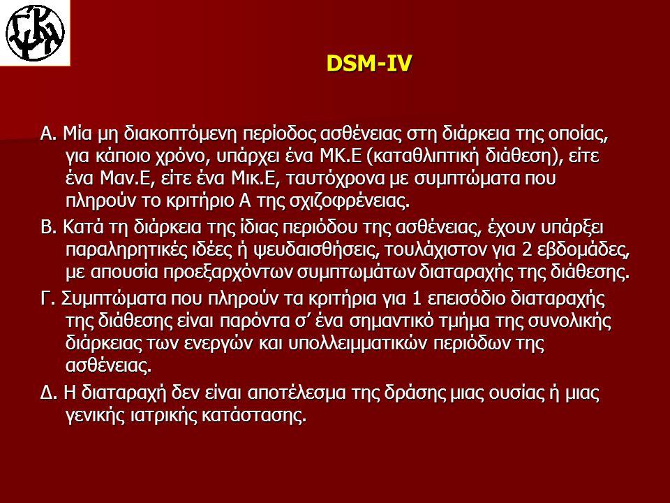 DSM-IV Α.