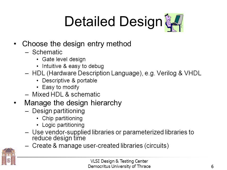 VLSI Design & Testing Center Democritus University of Thrace17 Προγραμματισμός download cable CPLDs FPGA Programmer