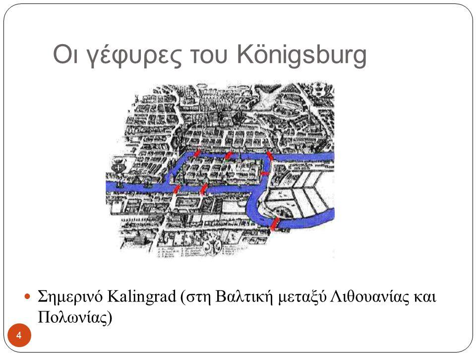 Οι γέφυρες του Königsburg Σημερινό Kalingrad (στη Βαλτική μεταξύ Λιθουανίας και Πολωνίας) 4