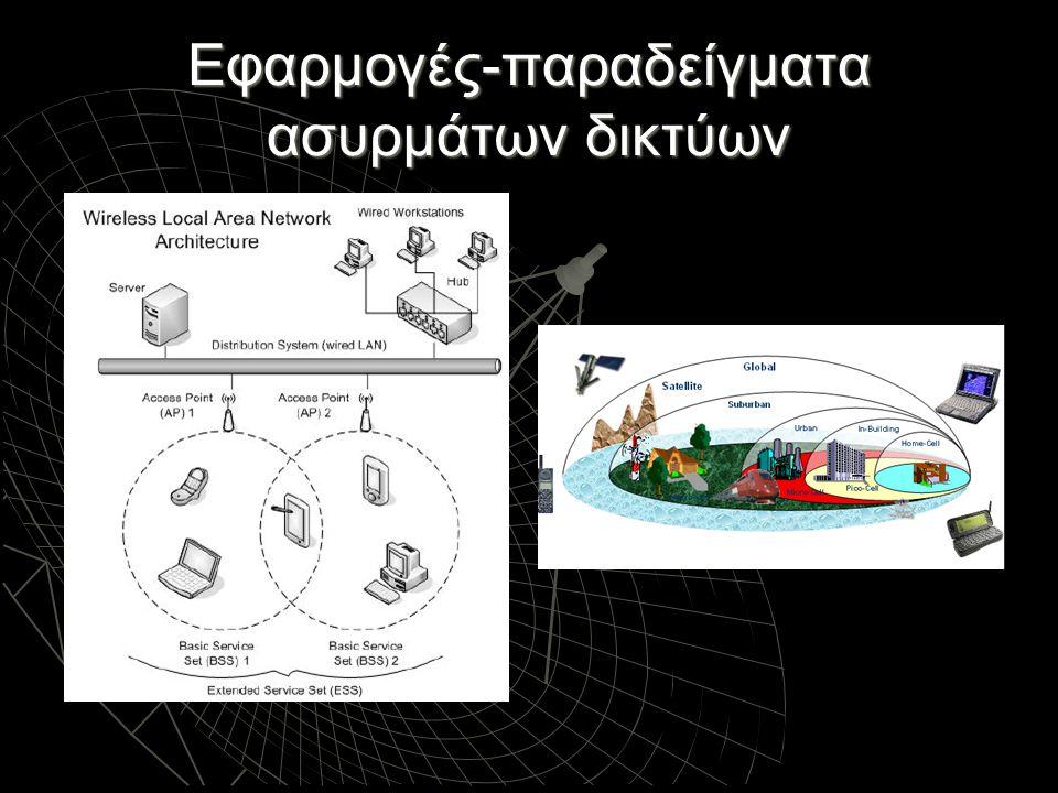 Εφαρμογές-παραδείγματα ασυρμάτων δικτύων