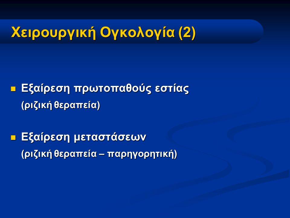 Ακτινοθεραπευτική Ογκολογία 1.Εξωτερική Ακτινοβολία (κοβάλτιο, γραμμικός επιταχυντής) 2.