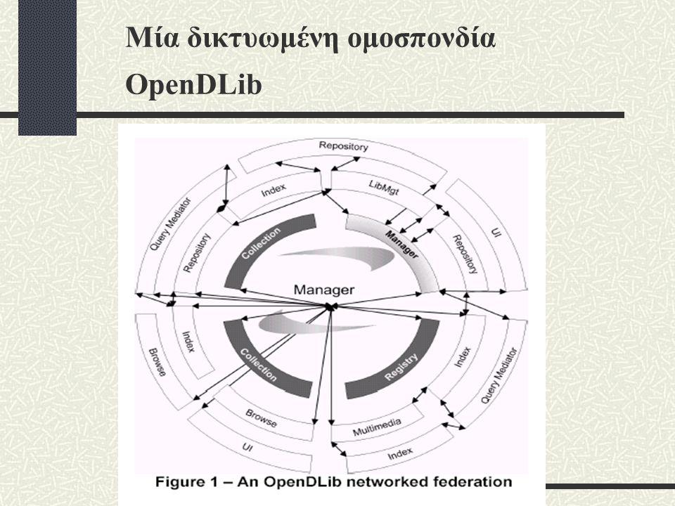 Μία δικτυωμένη ομοσπονδία OpenDLib