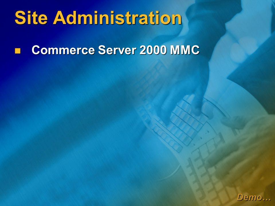 Transaction Pipelines Νέα χαρακτηριστικά Χαρακτηριστικά Business-to-Business Χαρακτηριστικά Business-to-Business Πολλές παραγγελίες (POs) ανά αίτηση Πολλές παραγγελίες (POs) ανά αίτηση Διαδικασία έγκρισης παραγγελιών Διαδικασία έγκρισης παραγγελιών Ενσωμάτωση με το BizTalk Ενσωμάτωση με το BizTalk Πολλαπλές διευθύνσεις αποστολής ανά παραγγελία Πολλαπλές διευθύνσεις αποστολής ανά παραγγελία Υποστηρίζει 64-Bit τιμές Υποστηρίζει 64-Bit τιμές Κάποια components πλέον διαχειρίζονται από το Commerce Management Desk Κάποια components πλέον διαχειρίζονται από το Commerce Management Desk Τρόποι αποστολής, φόροι Τρόποι αποστολής, φόροι