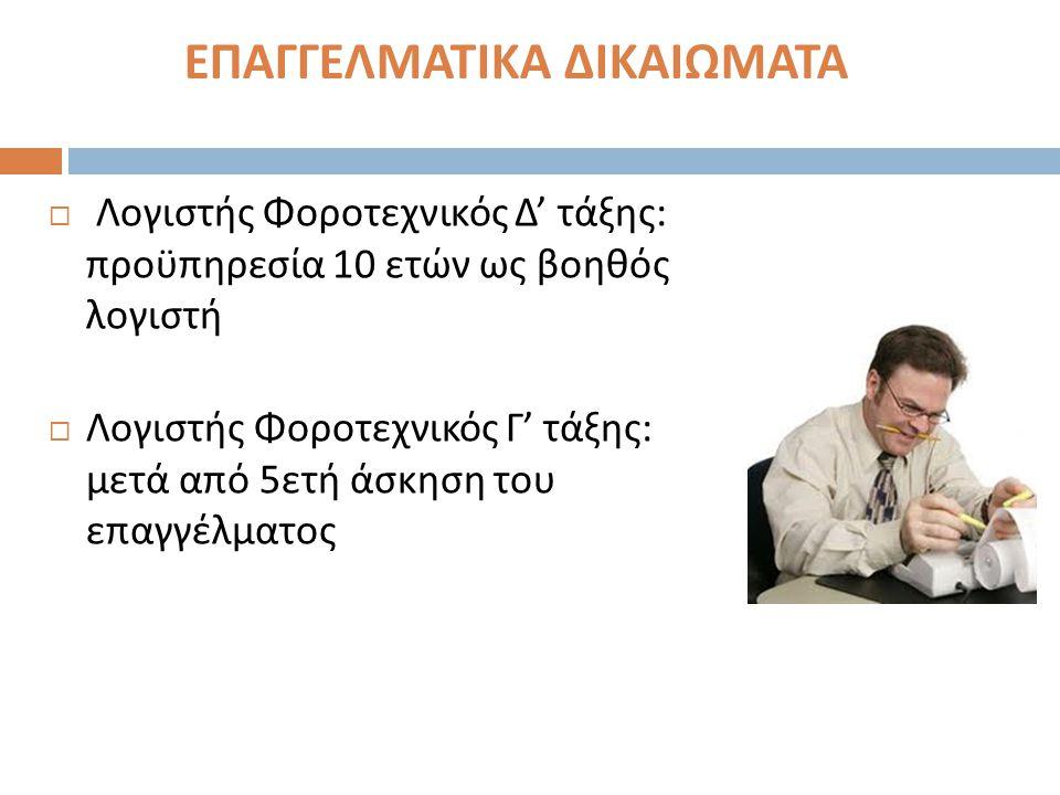  Βεβαίωση καταχώρησης της εταιρίας στο αντίστοιχο επιμελητήριο  Καταβολή χαρτοσήμου έναρξης επιτηδεύματος της εταιρίας : α ) για το μη φυσικό πρόσωπο ( εταιρεία ) 45€ β ) για κάθε ομόρρυθμο μέλος 90€  Συμπληρωμένα τα έντυπα α ) Μ 3 – Δήλωση έναρξης εργασιών μη φυσικού προσωπικού β ) Μ 7 – Δήλωση σχέσεων φορολογούμενου γ ) Μ 8 – Δήλωση μελών μη φυσικού προσώπου Δήλωση έναρξης εργασιών