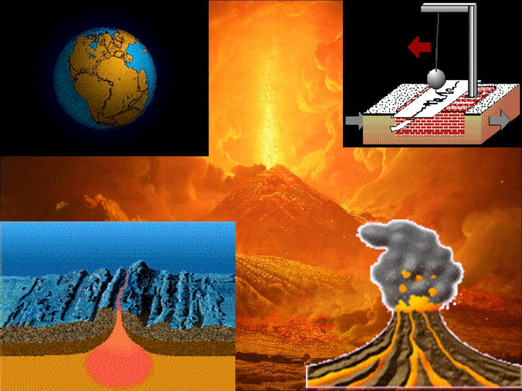 click Α) Δυνάμεις στο εσωτερικό της Γης (ενδογενείς) H επιφάνεια της Γης αλλάζει διαρκώς.