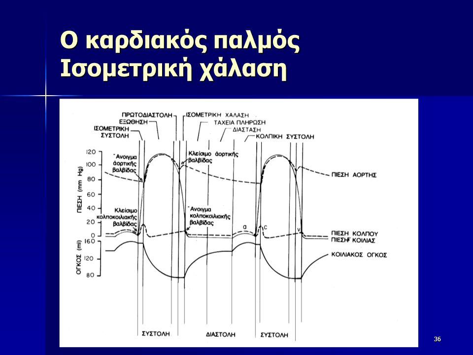 Ο καρδιακός παλμός Ισομετρική χάλαση 36