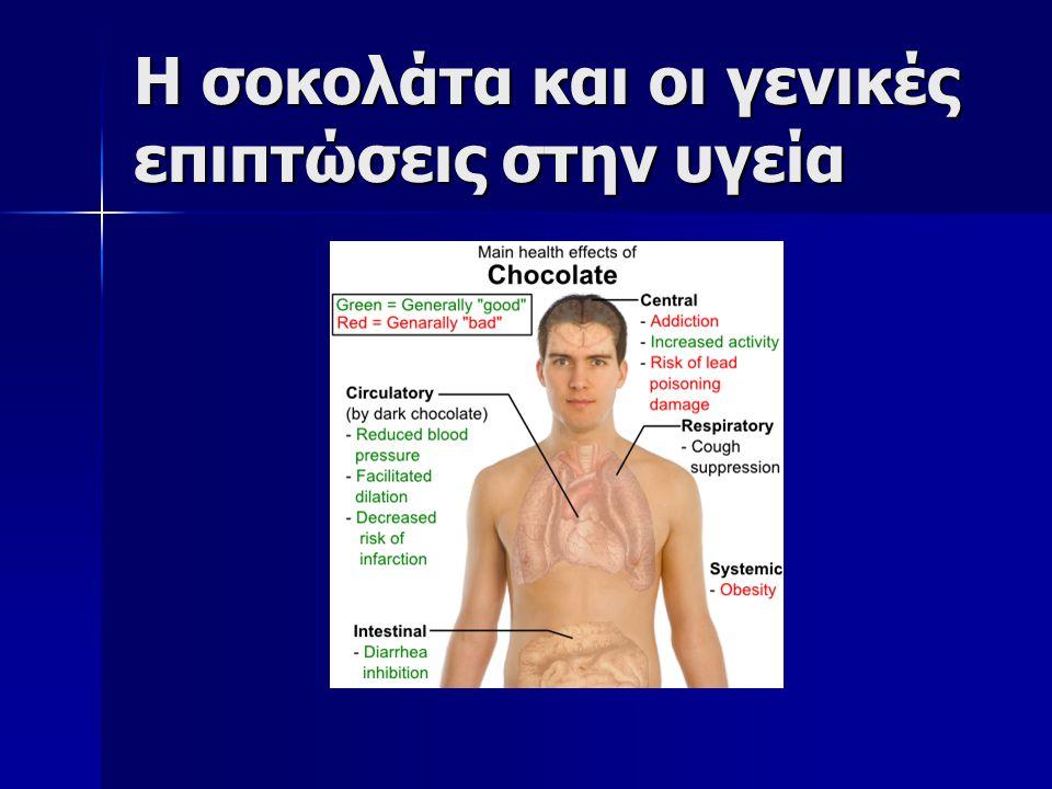 Η σοκολάτα είναι μια απόλαυση με αμφιλεγόμενες επιπτώσεις στον οργανισμό μας.