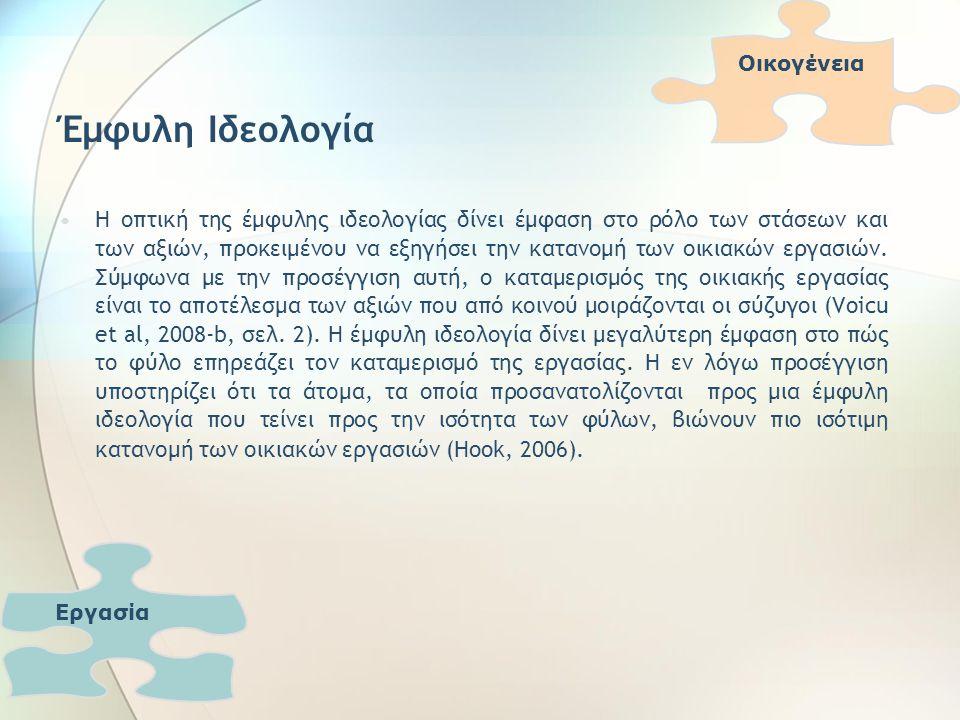 Συζήτηση – Συμπεράσματα Οδεύουμε τελικά προς μια κοινωνία ισότητας και δικαιοσύνης στα σύγχρονα ελληνικά ζευγάρια; Τα αποτελέσματα της ανάλυσης των συνεντεύξεων που πραγματοποιήθηκαν σε 10 ζευγάρια διπλής σταδιοδρομίας με παιδιά που κατοικούν στην Αττική, οδήγησαν στη σύνοψη σημαντικών συμπερασμάτων όσον αφορά στις αντιλήψεις τους για τη συμφιλίωση εργασίας και οικογενειακής/ιδιωτικής ζωής και στον τρόπο με το οποίο το φύλο επηρεάζει και συμβάλει στη διαμόρφωση των αντιλήψεων αυτών.