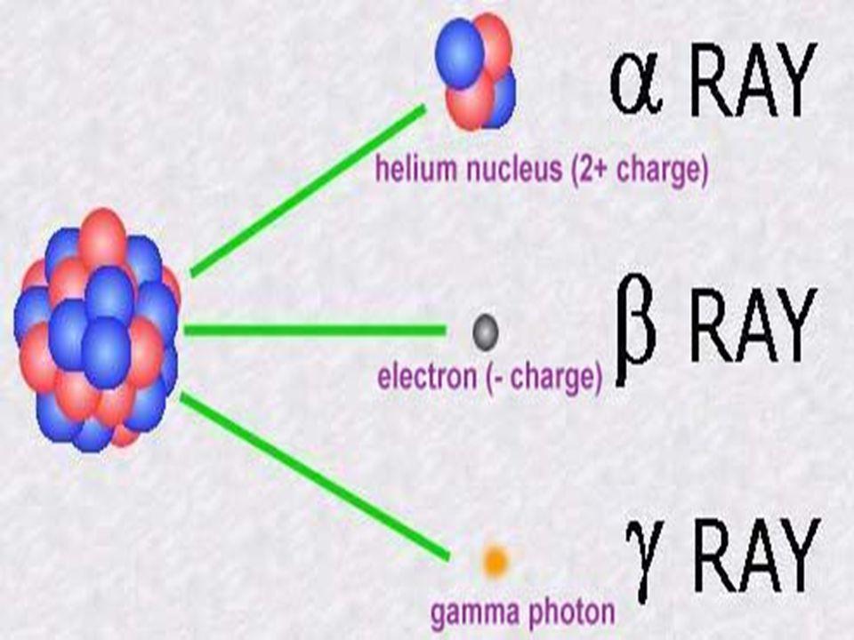 Ραδιενέργεια είναι το φαινόμενο της εκπομπής σωματιδίων ή ηλεκτρομαγνητικής ακτινοβολίας από τους πυρήνες ορισμένων χημικών στοιχείων, που γι' αυτό το