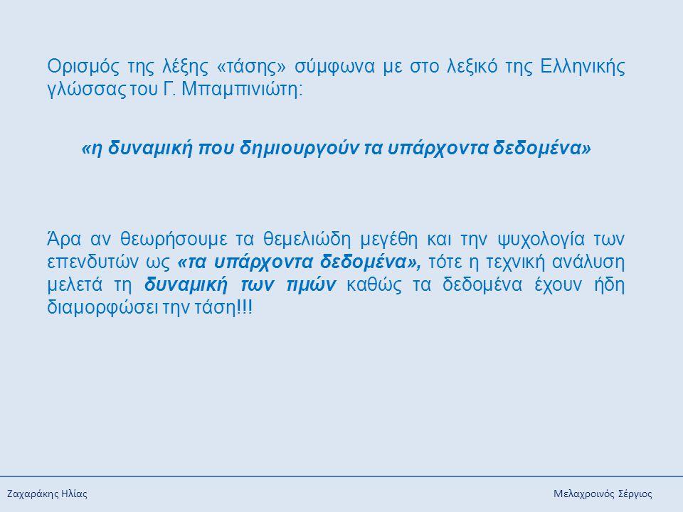 Ζαχαράκης Ηλίας Μελαχροινός Σέργιος Ορισμός της λέξης «τάσης» σύμφωνα με στο λεξικό της Ελληνικής γλώσσας του Γ. Μπαμπινιώτη: «η δυναμική που δημιουργ
