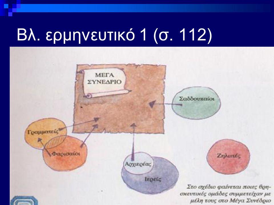 Βλ. ερμηνευτικό 1 (σ. 112)