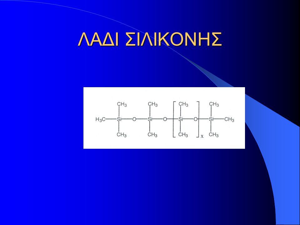 Η ονομασία σιλικόνη, δόθηκε για την περιγραφή χημικών ενώσεων με εμπειρικό τύπο R 2 SiO, σε αναλογία με τις κετόνες που έχουν τύπο R 2 CO.