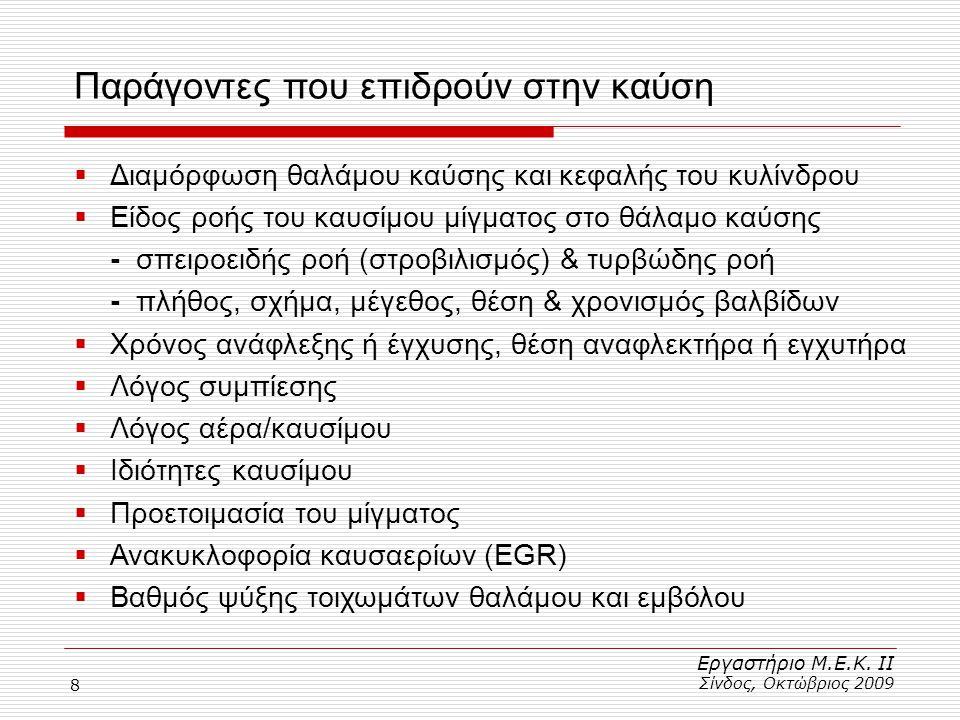 39 Νόμοι διατήρησης φυσικών μεγεθών Εργαστήριο Μ.Ε.Κ.
