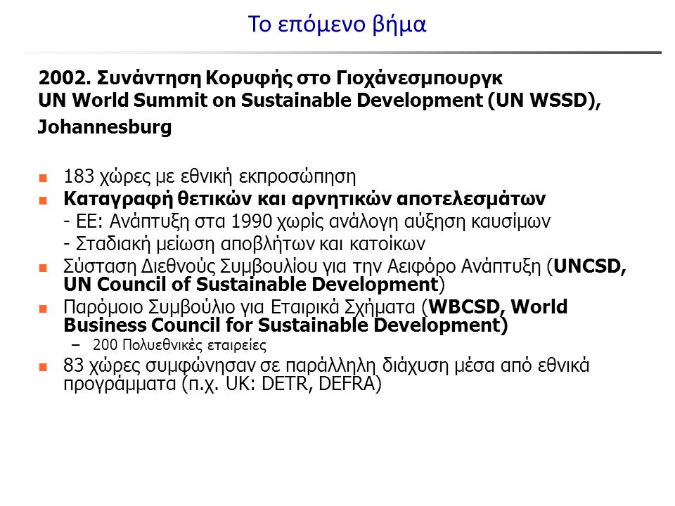 2000.World Business Council for Sustainable Development (WBCSD).