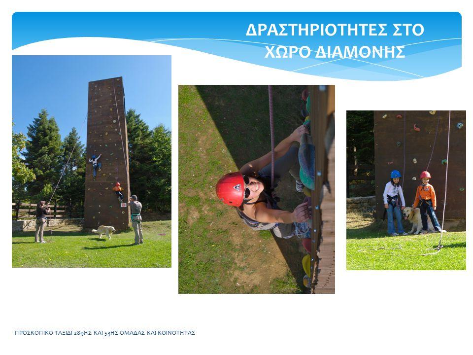 ΠΡΟΣΚΟΠΙΚΟ ΤΑΞΙΔΙ 289ΗΣ ΚΑΙ 53ΗΣ ΟΜΑΔΑΣ ΚΑΙ ΚΟΙΝΟΤΗΤΑΣ ΠΡΟΓΡΑΜΜΑ 16:00Επίσκεψη στη μονή Προυσιότισσας, μια από τις ομορφότερες Μονές στην Ελλάδα 17:00Αναχώρηση για το δασικό χωριό 18:00Άφιξη στο δασικό χωριό – Προετοιμασία για δείπνο 20:00Δείπνο 21:00Νυκτερινό παιχνίδι 22:30Προετοιμασία για κατάκλιση 23:00Σιωπητήριο