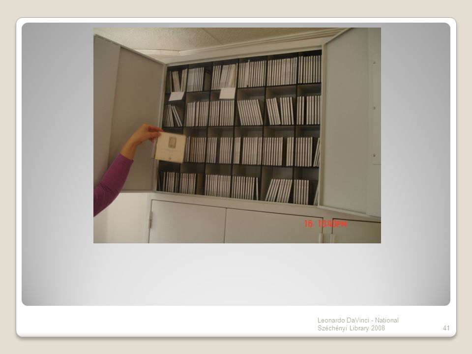 41 Leonardo DaVinci - National Széchényi Library 2008
