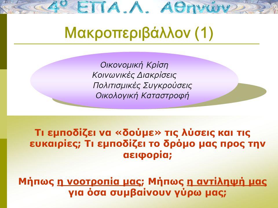 Το Οικολογικό και Πολιτισμικό μικροπεριβάλλον στη Μάθηση 2012-2013 Εκεί που το οικολογικό και πολιτισμικό μικροπεριβάλλον συναντούν την εκπαιδευτική διαπολιτισμική διαδικασία… διευκολύνεται η μελέτη παιδιών με ελλιπή γνώση της ελληνικής γλώσσας ή / και δυσλεξία ή / και έλλειψη αντίστοιχου υπόβαθρου στο αντικείμενο, αυξάνεται το ενδιαφέρον τους (με τη χρήση μέσων που τους είναι οικεία και τα προτιμούν) και ενδυναμώνονται μέσα από την άμεση ανατροφοδότηση της διαρκώς βελτιούμενης επίδοσής τους.
