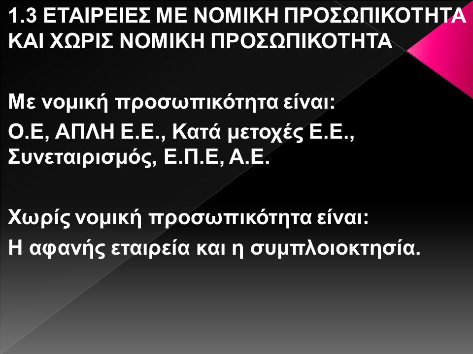 Αφού υποβληθούν τα δικαιολογητικά στη υπηρεσία μίας στάσης, ο Γεώργιος Παπακωνσταντίνου κατατεθεί τα ποσά της μετρητοίς στην υπηρεσία μιας στάσης για να συσταθεί η εταιρεία.