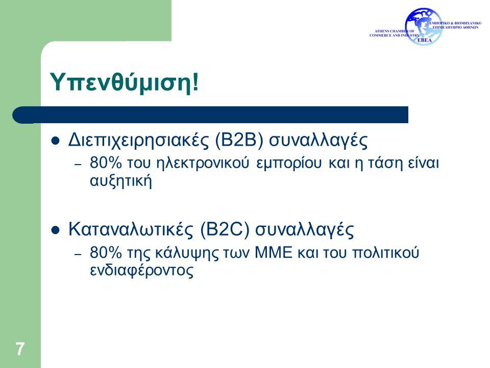 18 ABCXYZ ABC Pu B Pr B Δίκτυο Κρυπτογράφηση μηνύματος Α Pu B Β Pr Β Δημόσιος Κατάλογος Pu Α Pu Β Εφόσον μόνο η οντότης Β γνωρίζει το ιδιωτικό κλειδί Β (Pr B ), το οποίο αποκωδικοποιεί μόνο ό,τι έχει κωδικοποιηθεί με το δημόσιο κλειδί Β (Pu B ), μόνο αυτή μπορεί να διαβάσει το μήνυμα.