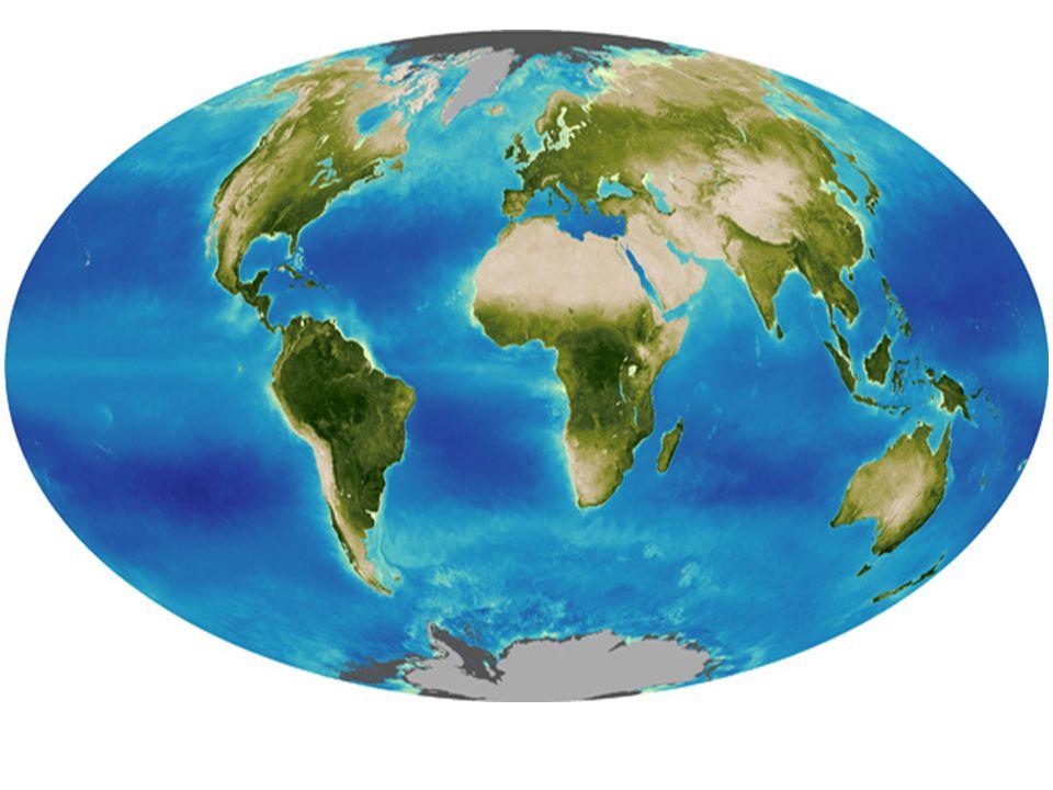 Η βιόσφαιρα είναι το εξωτερικό περίβλημα του πλανήτη.