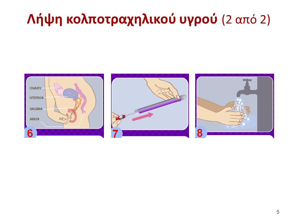 Λήψη κολποτραχηλικού υγρού (2 από 2) 5