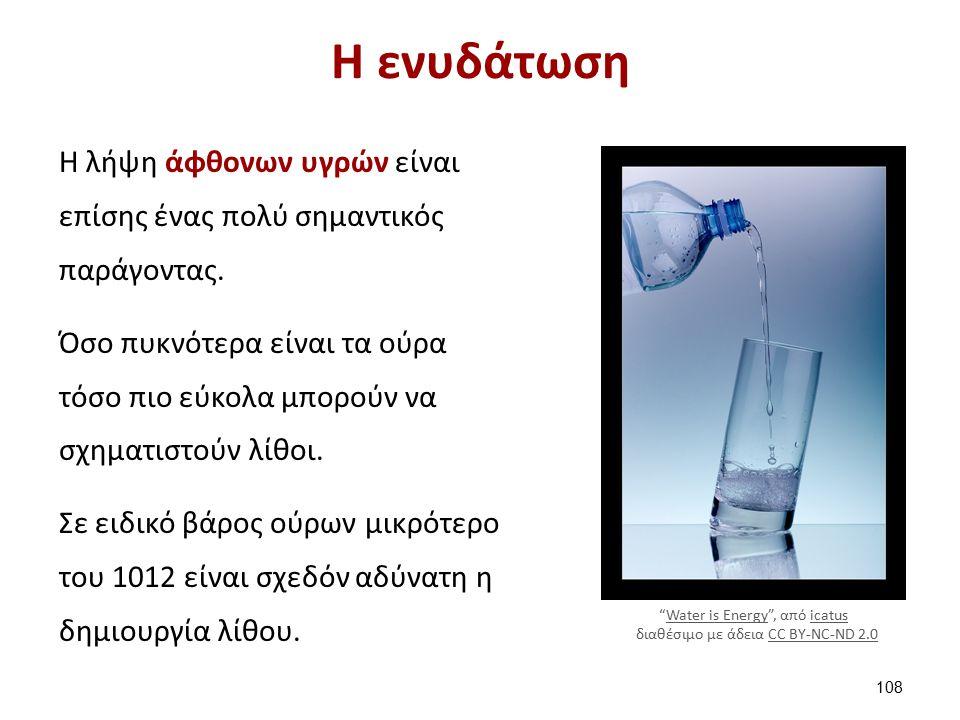 Η ενυδάτωση Η λήψη άφθονων υγρών είναι επίσης ένας πολύ σημαντικός παράγοντας.