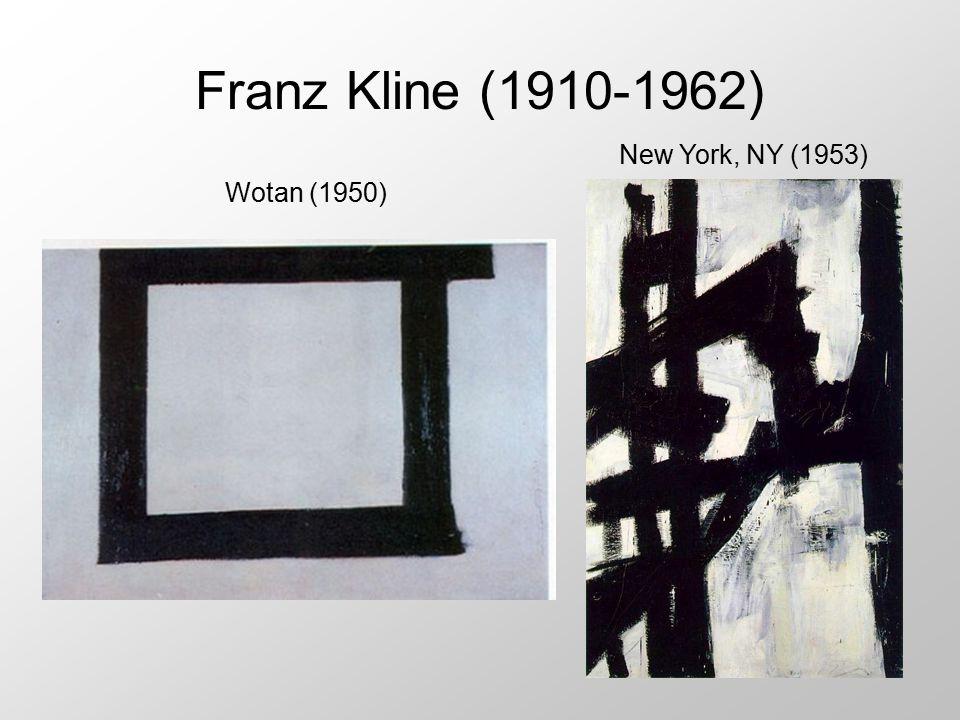 Franz Kline (1910-1962) New York, NY (1953) Wotan (1950)