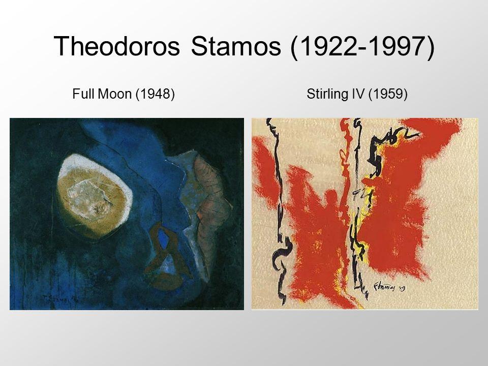 Theodoros Stamos (1922-1997) Full Moon (1948)Stirling IV (1959)