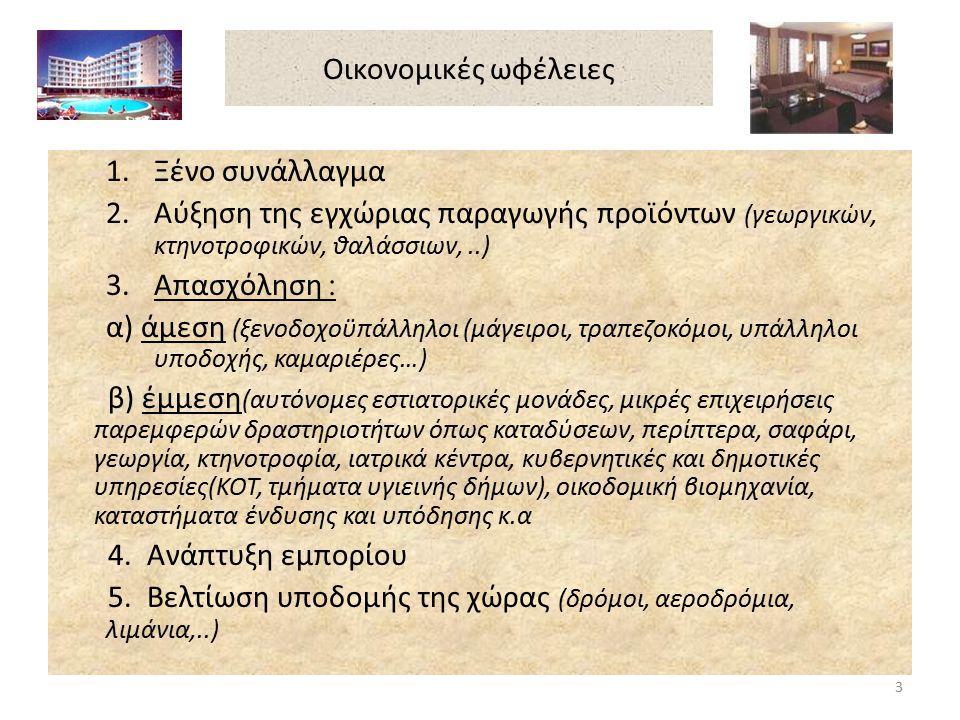 Κοινωνικές ωφέλειες 1.Ενίσχυση της ελεύθερης επικοινωνία των ανθρώπων 2.Προαγωγή ελεύθερου τρόπου σκέψης και έκφρασης των ανθρώπων 3.Διατήρηση της αρχαιολογικής και πολιτιστικής κληρονομιάς 4.Άνοδος του μορφωτικού επιπέδου 5.Ανάδειξη πολιτιστικών και καλλιτεχνικών γεγονότων 6.Βελτίωση του βιοτικού επιπέδου 7.Εξωραϊσμός φυσικού περιβάλλοντος 8.Προβολή και ενημέρωση των επισκεπτών για το Κυπριακό Εθνικό πρόβλημα 4
