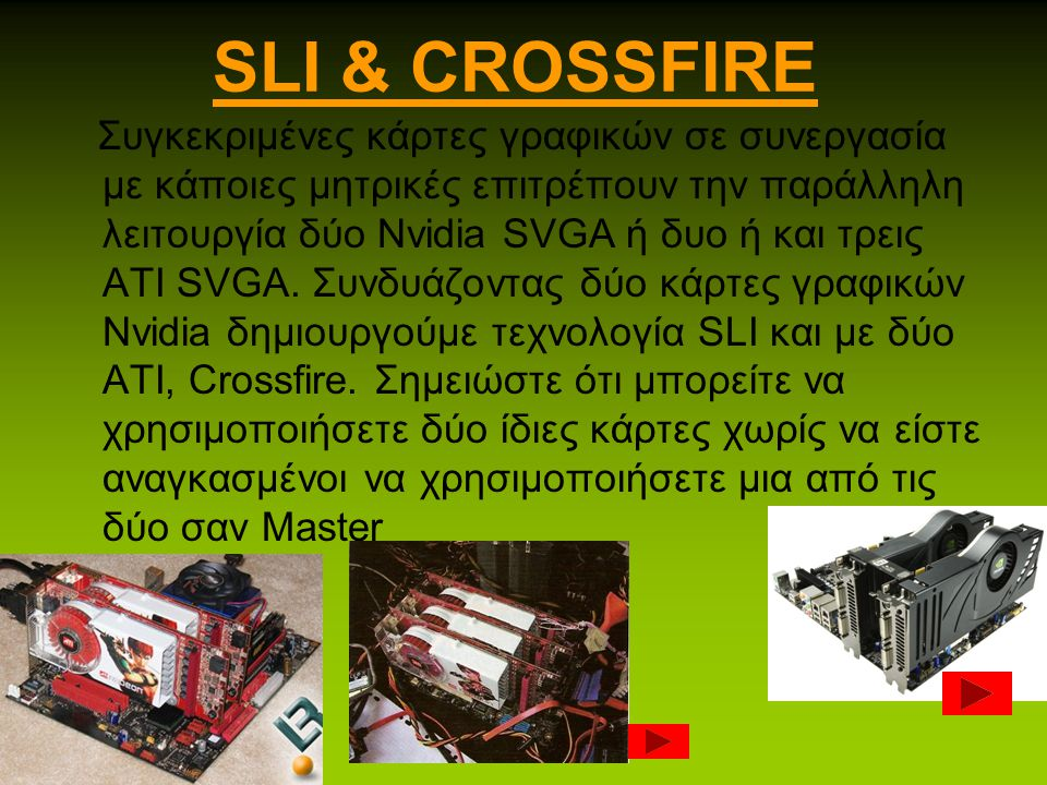 DVI OUT Ψηφιακή υποδοχή εικόνας που επιτρέπει την σύνδεση της κάρτας γραφικών με την οθόνη για δυνατότητα ψηφιακής αναπαραγωγής περιεχομένου