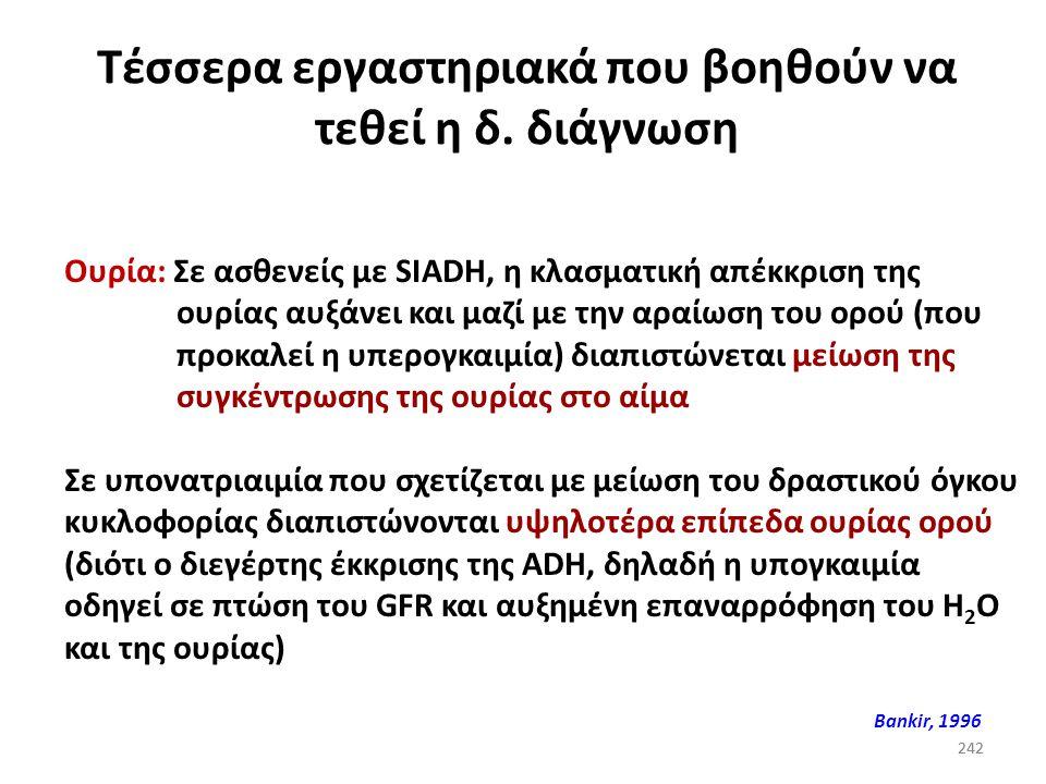 241 Υπονατριαιμία (και οξεοβασική ισορροπία) Μεταβολική οξέωση και υπερκαλιαιμίαΕπινεφριδιακή ανεπάρκεια Οξεοβασική διαταραχήΑιτία Μεταβολική αλκάλωση