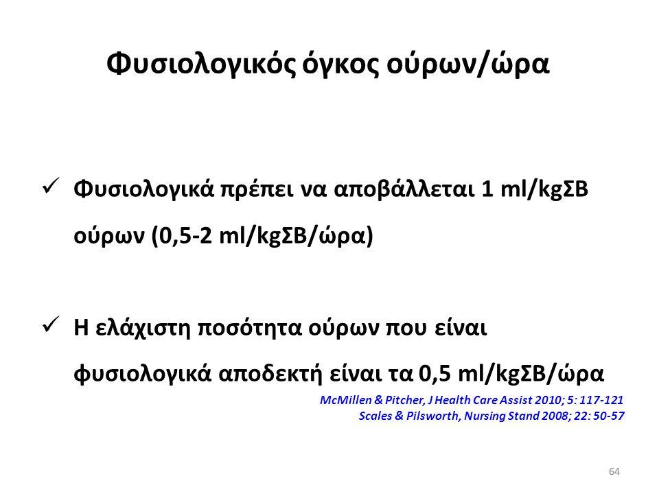 63 Υδατοπορίνη-2 Αποθηκεύεται σε ενδοκυττάρια κυστίδια των επιθηλιακών κυττάρων των αθροιστικών σωληναρίων Διαμέσου σήματος του cAMP, τα κυστίδια μετα