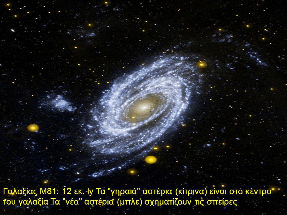 Γαλαξίας Μ81: 12 εκ. ly Τα