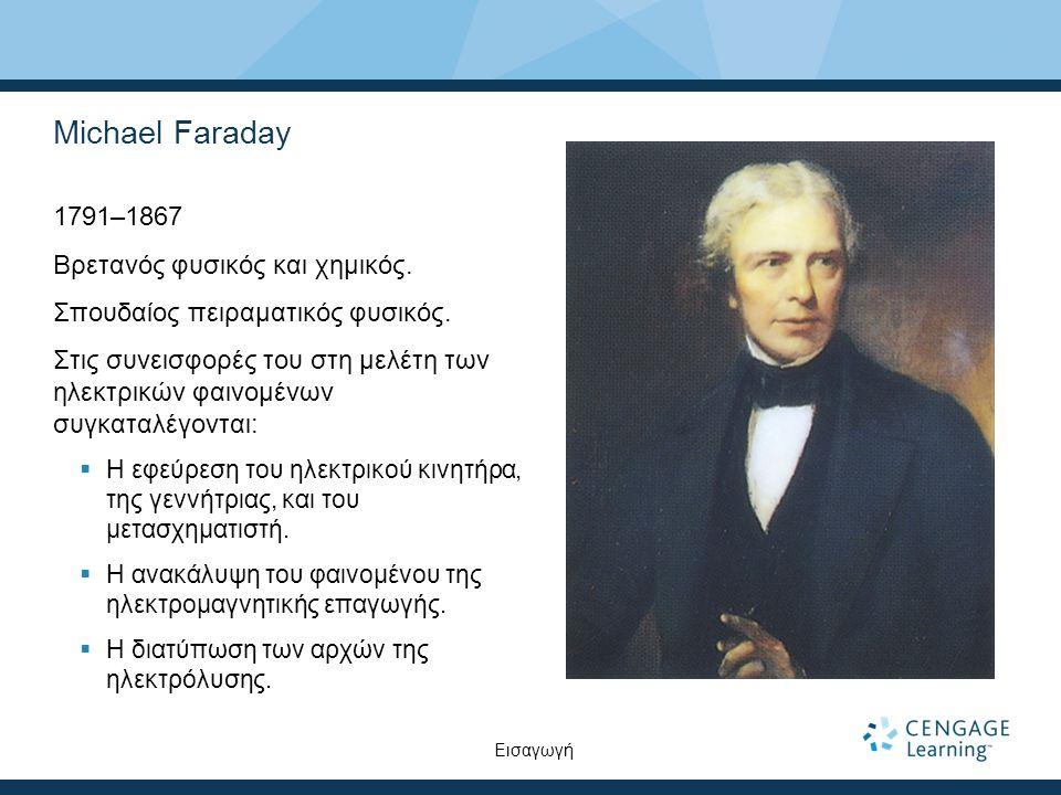 Ο νόμος του Faraday – Παράδειγμα Έστω ότι σε ένα ομογενές μαγνητικό πεδίο υπάρχει ένας βρόχος, ο οποίος περικλείει επιφάνεια εμβαδού A.