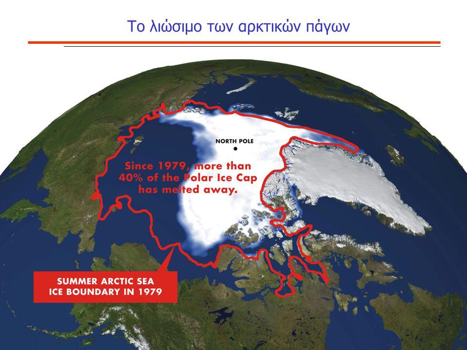 Το λιώσιμο των αρκτικών πάγων