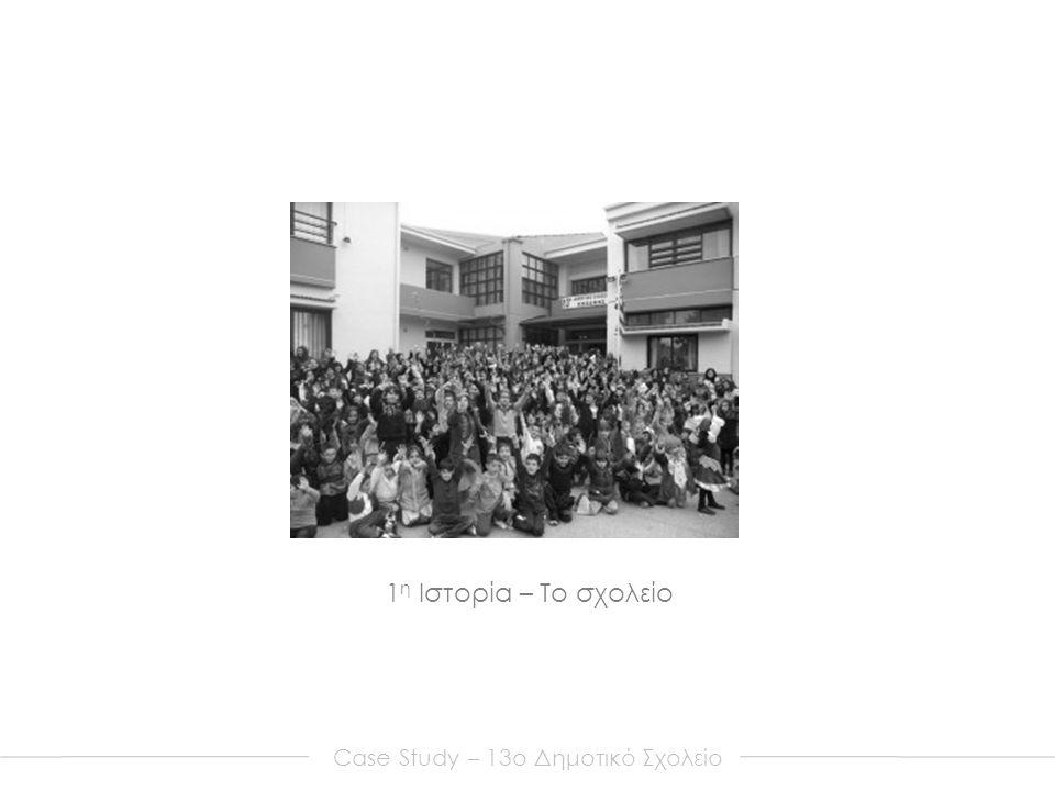 Case Study – 13o Δημοτικό Σχολείο 1 η Ιστορία – Το σχολείο