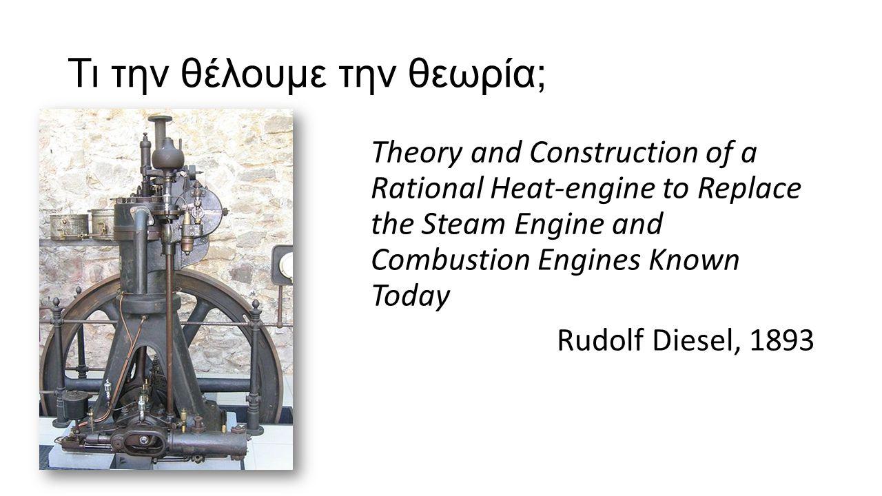 Ανακάλυψη Η αποδοτικότητα μια ιδεατής μηχανής εξαρτάται μόνον από την διαφορά θερμοκρασίας μεταξύ των δεξαμενών.