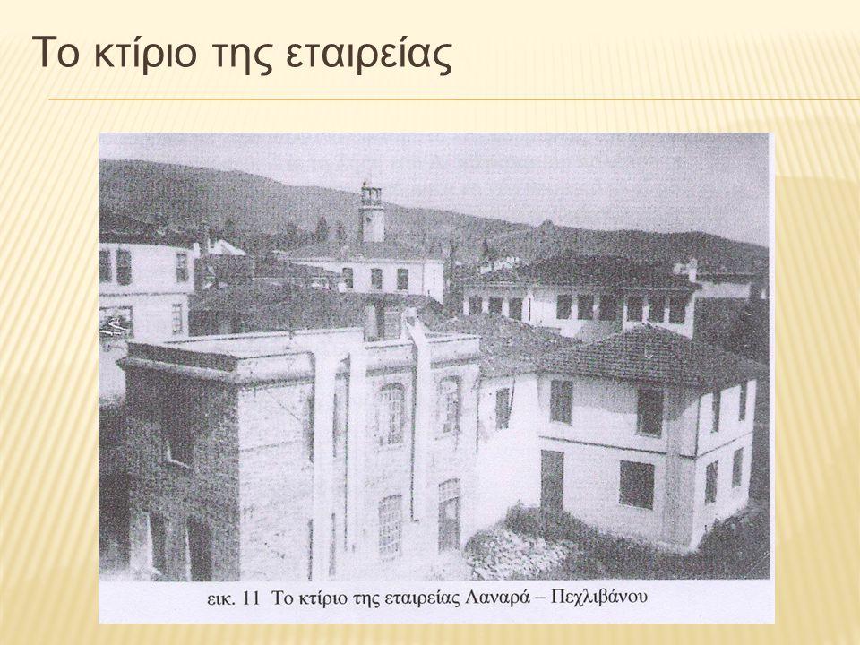 Το κτίριο της εταιρείας