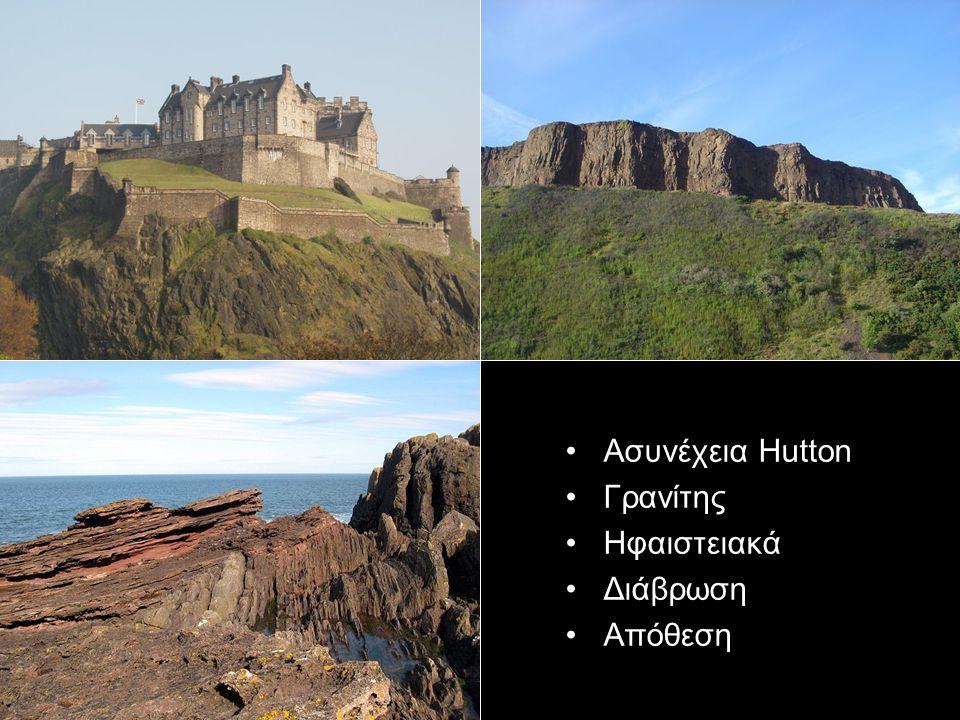 Ασυνέχεια Hutton Γρανίτης Ηφαιστειακά Διάβρωση Απόθεση
