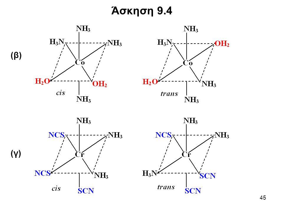 45 (β) (γ) Άσκηση 9.4