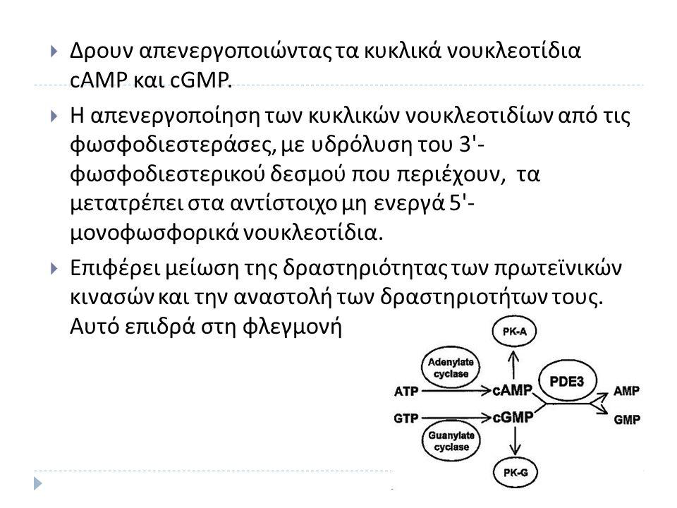 (2) Αναστολείς PDEs 4 από την παρατήρηση της δράσης της διαζεπάμης  Βενζοδιαζεπίνες