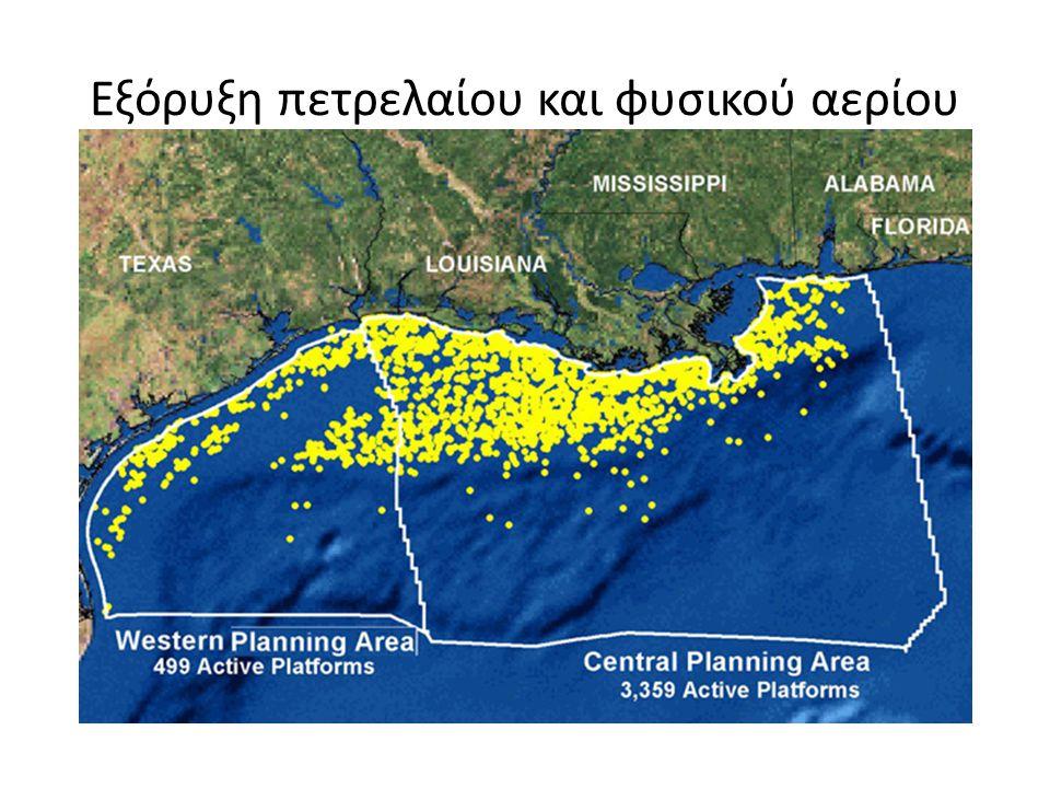 Εξόρυξη πετρελαίου και φυσικού αερίου
